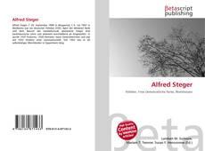 Buchcover von Alfred Steger