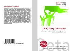 Unity Party (Australia) kitap kapağı