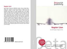 Bookcover of Napier Lion