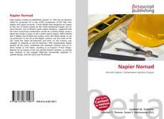 Capa do livro de Napier Nomad