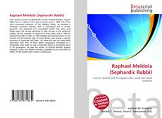 Обложка Raphael Meldola (Sephardic Rabbi)