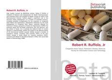 Bookcover of Robert R. Ruffolo, Jr