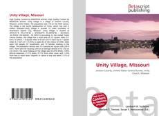 Обложка Unity Village, Missouri