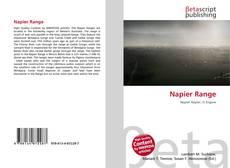 Bookcover of Napier Range