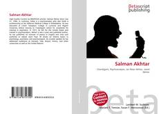 Bookcover of Salman Akhtar
