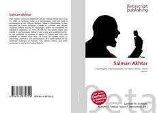 Salman Akhtar的封面