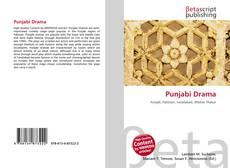 Punjabi Drama kitap kapağı