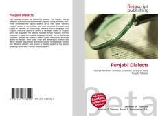 Punjabi Dialects kitap kapağı