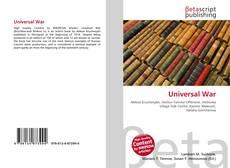 Universal  War的封面