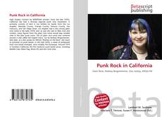 Bookcover of Punk Rock in California