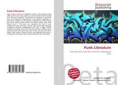 Capa do livro de Punk Literature