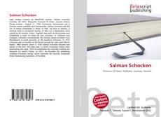 Capa do livro de Salman Schocken