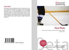 Buchcover von Paul Platz