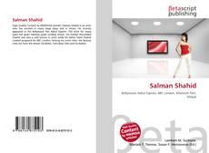 Capa do livro de Salman Shahid