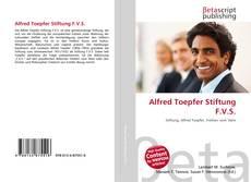 Capa do livro de Alfred Toepfer Stiftung F.V.S.