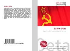 Bookcover of Salme Dutt