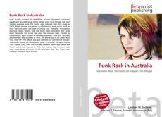Buchcover von Punk Rock in Australia