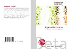Portada del libro de Raphaëlle Farman