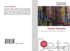 Bookcover of Taiwan Television