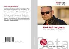 Buchcover von Punk Rock Subgenres