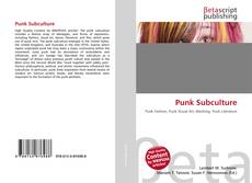 Bookcover of Punk Subculture