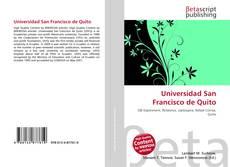 Bookcover of Universidad San Francisco de Quito