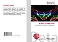 Buchcover von Alfred von Briesen