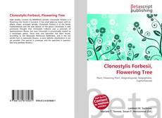 Bookcover of Clonostylis Forbesii, Flowering Tree