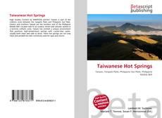 Taiwanese Hot Springs kitap kapağı