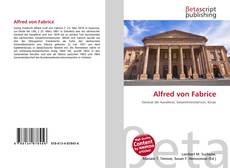 Bookcover of Alfred von Fabrice