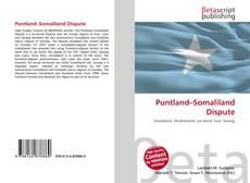 Capa do livro de Puntland–Somaliland Dispute