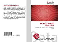 Couverture de Robert Reynolds Macintosh