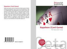 Capa do livro de Napoleon (Card Game)