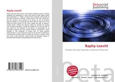 Bookcover of Raphy Leavitt