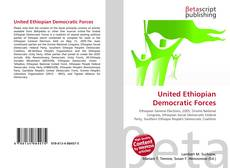 Copertina di United Ethiopian Democratic Forces