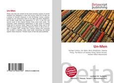 Bookcover of Un-Men