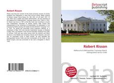 Bookcover of Robert Risson