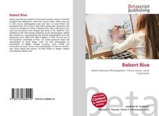 Buchcover von Robert Rive