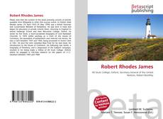 Bookcover of Robert Rhodes James