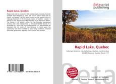 Обложка Rapid Lake, Quebec
