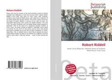 Robert Riddell kitap kapağı