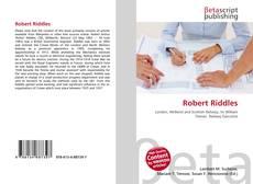 Capa do livro de Robert Riddles