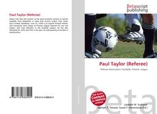 Paul Taylor (Referee) kitap kapağı