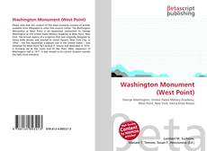 Bookcover of Washington Monument (West Point)