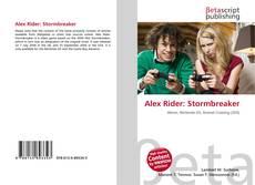 Portada del libro de Alex Rider: Stormbreaker