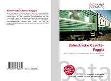 Bahnstrecke Caserta–Foggia的封面