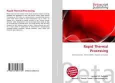Обложка Rapid Thermal Processing