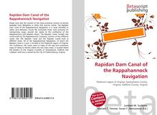 Bookcover of Rapidan Dam Canal of the Rappahannock Navigation