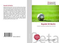 Bookcover of Rapide 93 Berlin