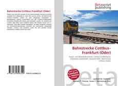 Bahnstrecke Cottbus–Frankfurt (Oder)的封面